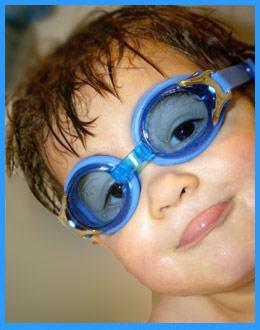 3yr+ Blue Swim Goggle by Baby Banz Africa