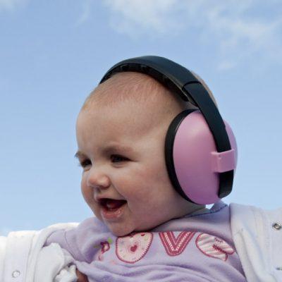 Baby Pink Ear Muffs Baby Banz