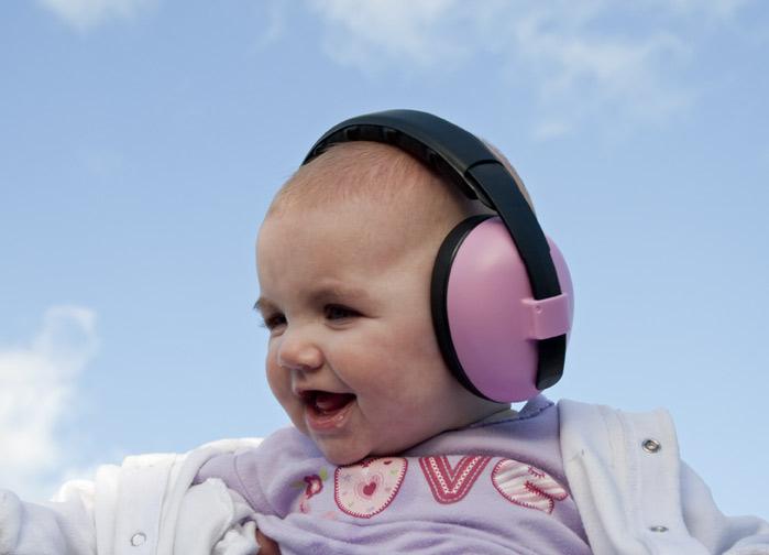 kids earmuffs - black
