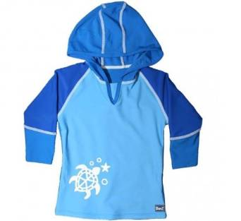 Blue White Hoody by Baby Banz Africa