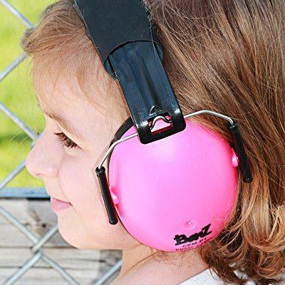 Kids Pink Ear Muffs Baby Banz Africa