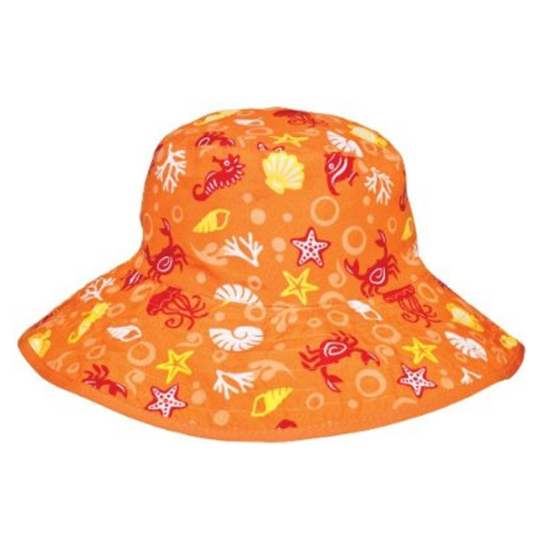 Orange-Tide-Reversible-broadrim-Hat-by-Baby-Banz-Africa