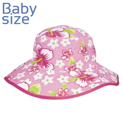 Pink-Florali-Reversible-broadrim-Hat-by-Baby-Banz-Africa-baby-hat