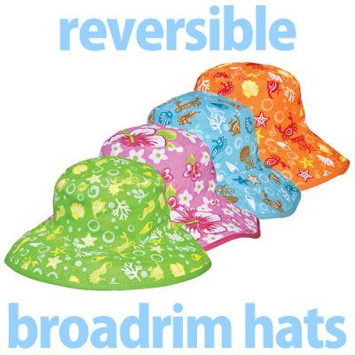 Reversible Broadrim Hats