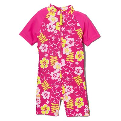 Swimwear---Full-Piece-Costume---Pink-Sun-Blossom