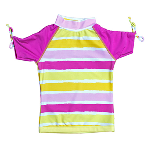 Swimwear - Sun Blossom Short Sleeve Rash Shirt - Baby Banz