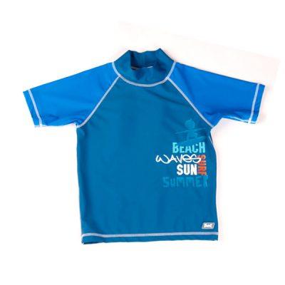 Swimwear---UV-Rash-Shirt---Blue-Surfer-Short-Sleeve-Rash-Shirt