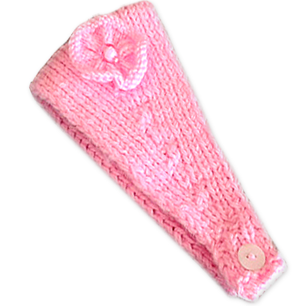 baby-banz-pink-knitted-headband