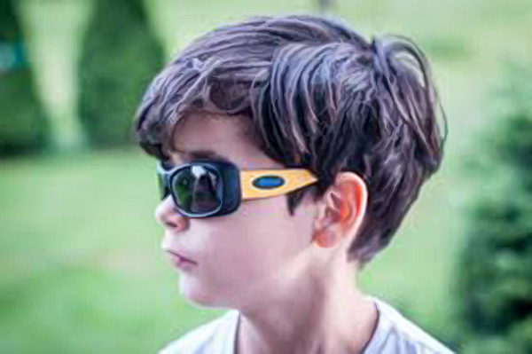 JBanz Flexer lifestyle - Flexible frame kids sunglasses - Baby Banz