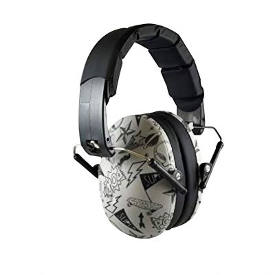 Kids Graffiti Earmuffs - Ear Protection for Kids by Baby Banz