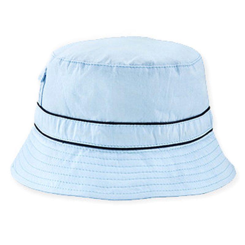 Light Blue Bubzee 100% Cotton Hats - www.banzworld.co.za