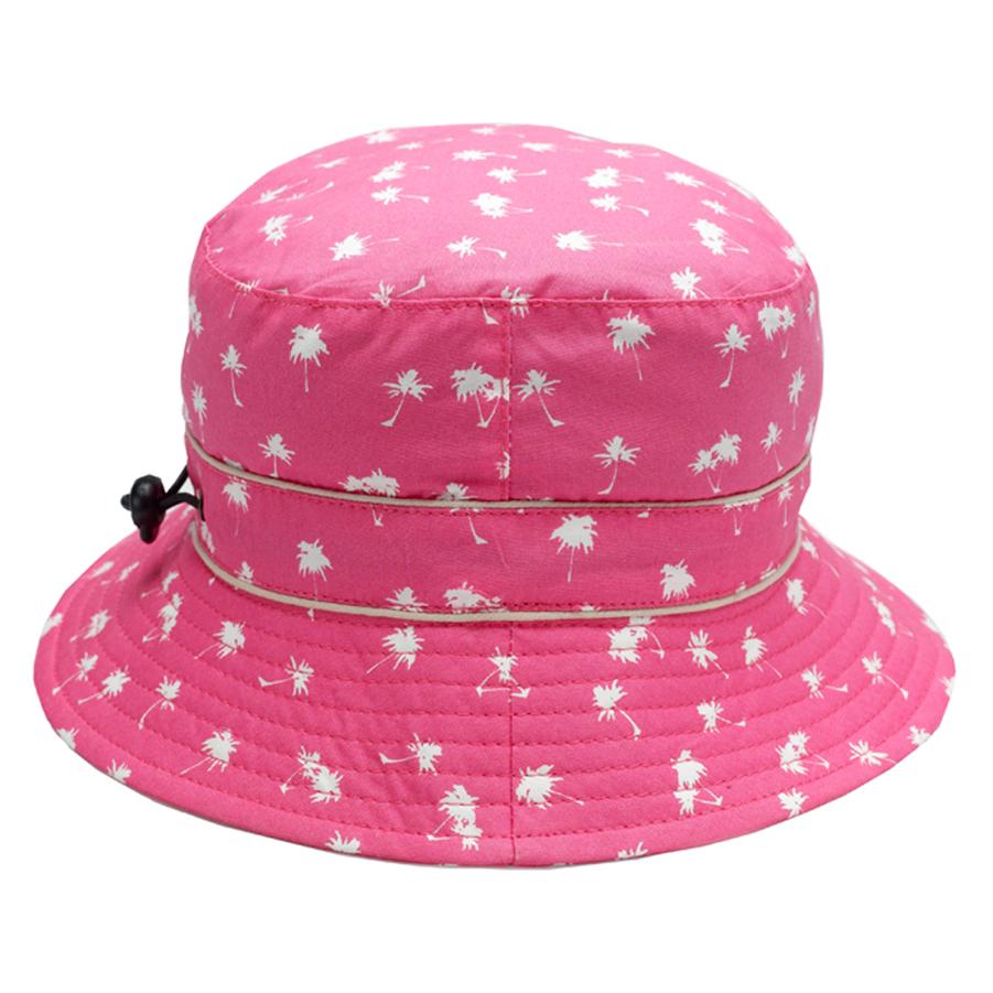 Magenta Palm Bubzee 100% Cotton Hats - www.banzworld.co.za babdc0a4242