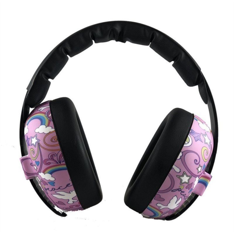 Peace Pattern Children and Toddler Ear Muffs | Banz