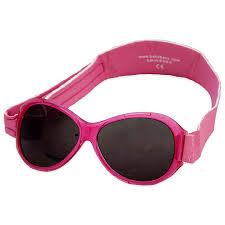Pink Retro Banz Baby Sunglasses | Baby BANZ