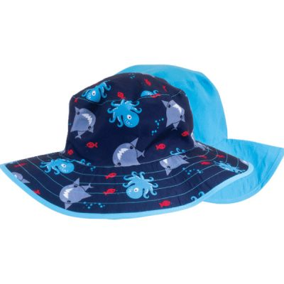 Shark Reversible Kids Hat - South Africa Banz