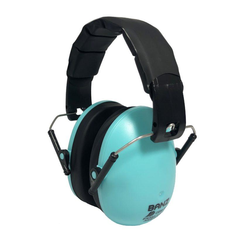 Kidz Lagoon BlueEarmuffs BanzWorld- BabyBanz -Protect your childs hearing - EM025
