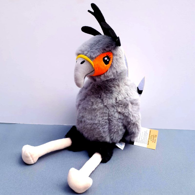 Secretary Bird Birdlife Stuffed Toy | Birdlife South Africa Fundraiser. Support a great cause. BirdLife South Africa wishes to see a country and region where nature and people live in greater harmony, more equitably and sustainably